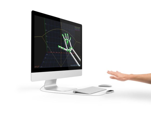 Got this image from LEap Motion website (I forgot to do screen capture :-p)